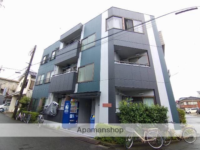 埼玉県蕨市、戸田公園駅徒歩30分の築28年 3階建の賃貸マンション