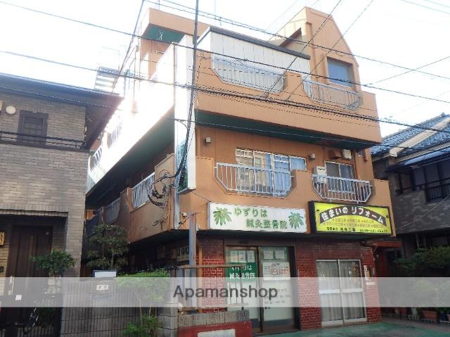 埼玉県蕨市、蕨駅徒歩18分の築37年 3階建の賃貸マンション