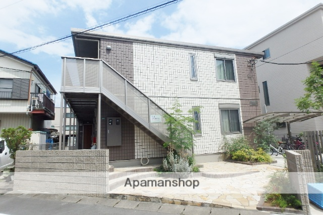 埼玉県蕨市、戸田駅徒歩12分の築3年 2階建の賃貸アパート