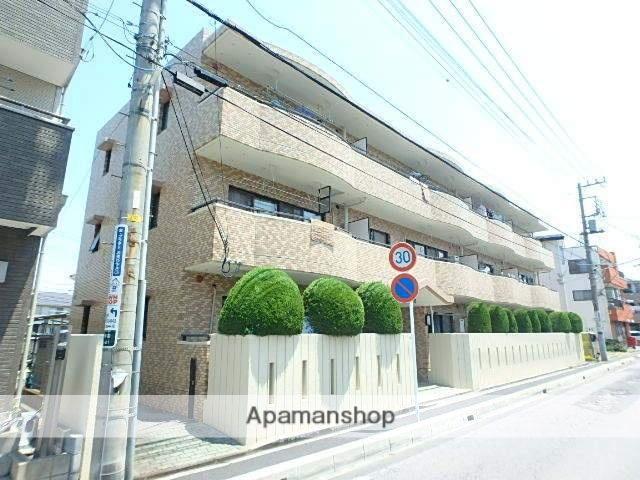 埼玉県川口市、蕨駅徒歩13分の築27年 3階建の賃貸マンション