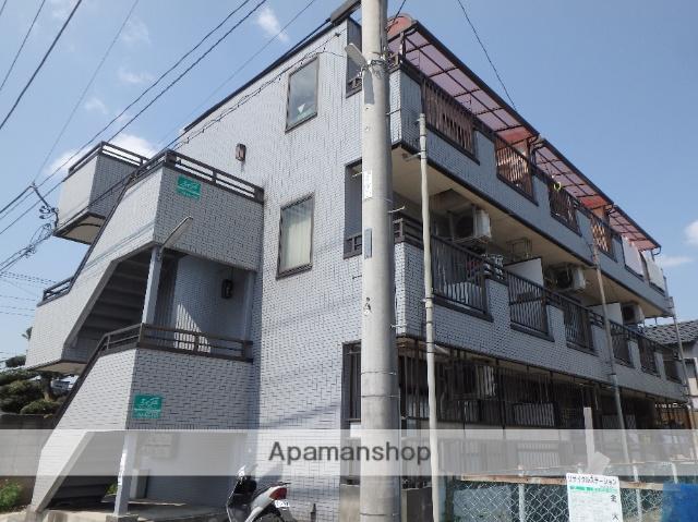 埼玉県蕨市、蕨駅徒歩9分の築26年 3階建の賃貸マンション