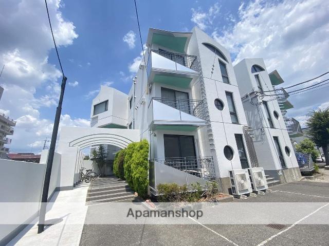埼玉県川口市、蕨駅徒歩6分の築27年 3階建の賃貸マンション