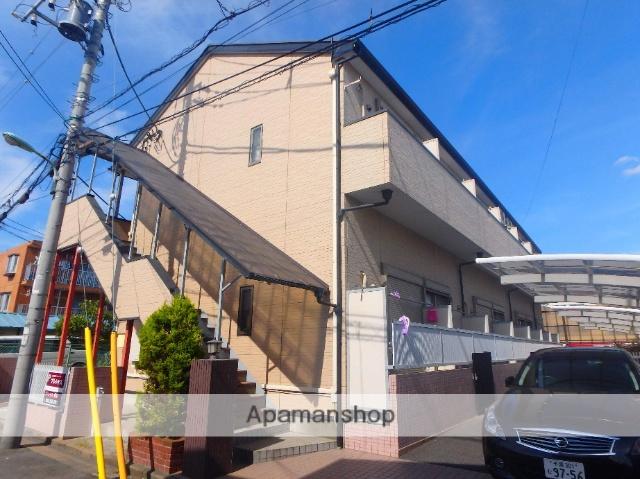 埼玉県川口市、蕨駅徒歩22分の築12年 2階建の賃貸アパート
