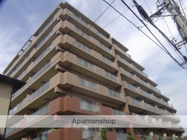 埼玉県川口市、蕨駅徒歩18分の築10年 8階建の賃貸マンション