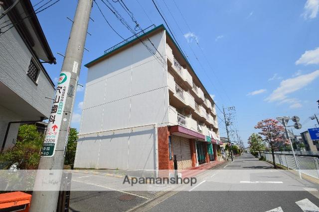 埼玉県川口市、蕨駅徒歩15分の築32年 4階建の賃貸マンション