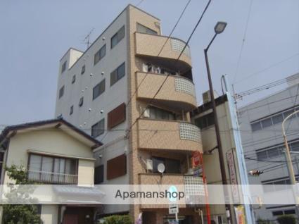 埼玉県蕨市、蕨駅徒歩4分の築25年 5階建の賃貸マンション