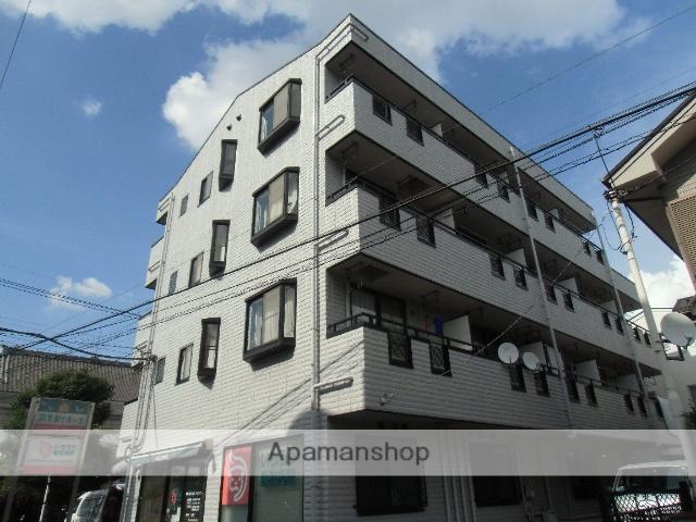 埼玉県川口市、蕨駅徒歩8分の築17年 4階建の賃貸マンション