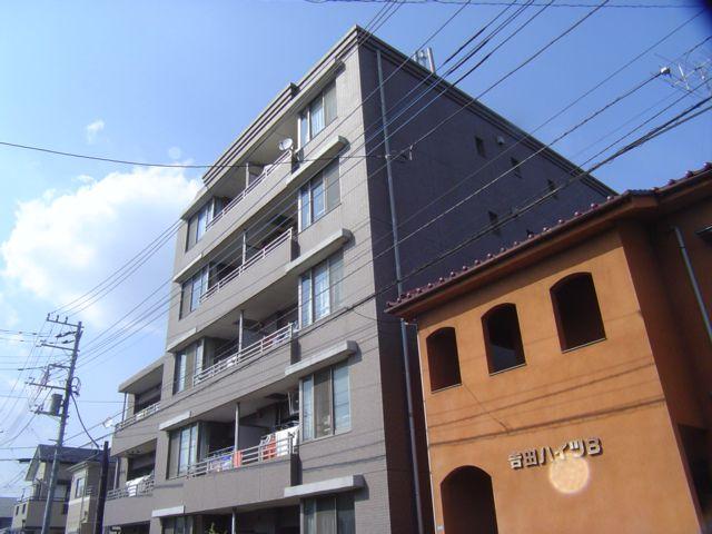 埼玉県蕨市、戸田公園駅徒歩25分の築16年 5階建の賃貸マンション