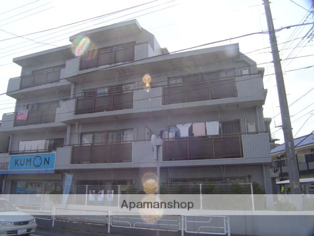 埼玉県蕨市、戸田公園駅徒歩26分の築28年 4階建の賃貸マンション
