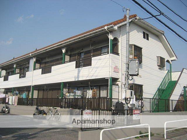 埼玉県川口市、蕨駅バス12分鹿島下車後徒歩5分の築24年 2階建の賃貸アパート