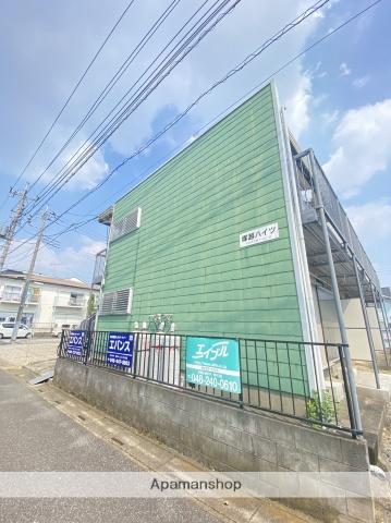 埼玉県川口市、蕨駅徒歩18分の築32年 2階建の賃貸アパート