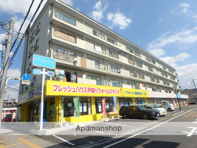 埼玉県戸田市、戸田公園駅徒歩15分の築44年 5階建の賃貸マンション