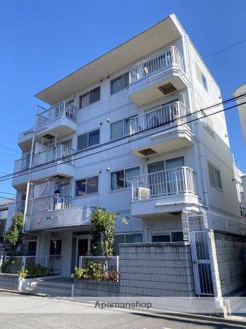 埼玉県川口市、蕨駅徒歩10分の築28年 4階建の賃貸マンション