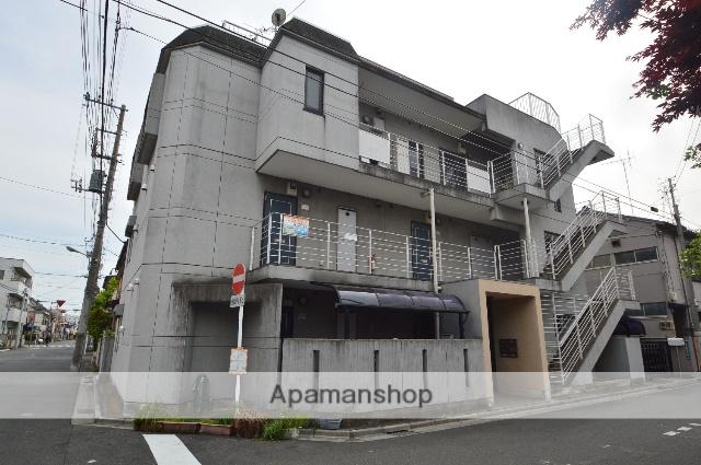 埼玉県川口市、蕨駅徒歩7分の築23年 3階建の賃貸マンション