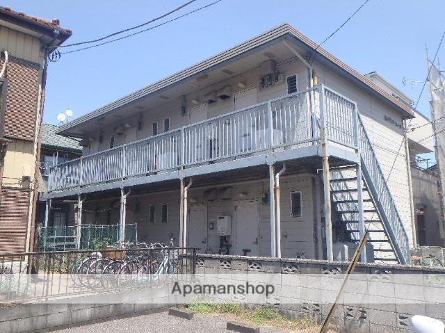 埼玉県川口市、蕨駅徒歩5分の築30年 2階建の賃貸アパート