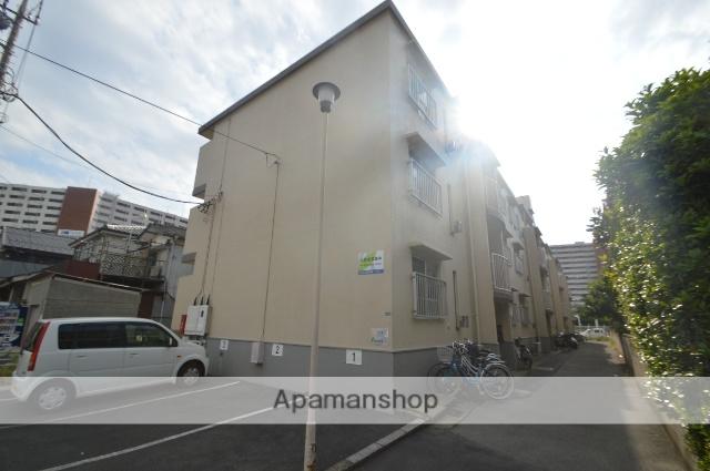 埼玉県川口市、蕨駅徒歩8分の築39年 3階建の賃貸マンション