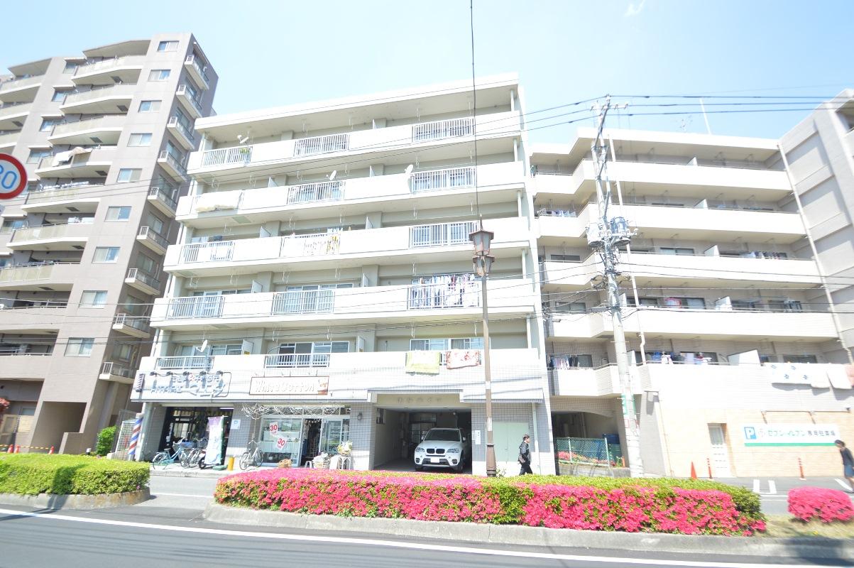 埼玉県川口市、蕨駅徒歩4分の築30年 6階建の賃貸マンション