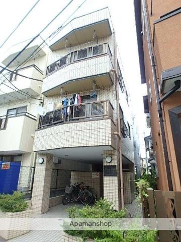 埼玉県川口市、蕨駅徒歩7分の築28年 3階建の賃貸マンション