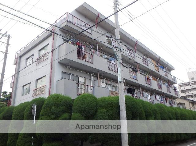 埼玉県蕨市、蕨駅徒歩7分の築30年 4階建の賃貸マンション