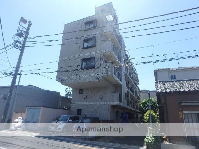 埼玉県川口市、蕨駅徒歩18分の築25年 5階建の賃貸マンション