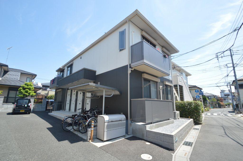埼玉県川口市、南浦和駅徒歩29分の築4年 2階建の賃貸アパート