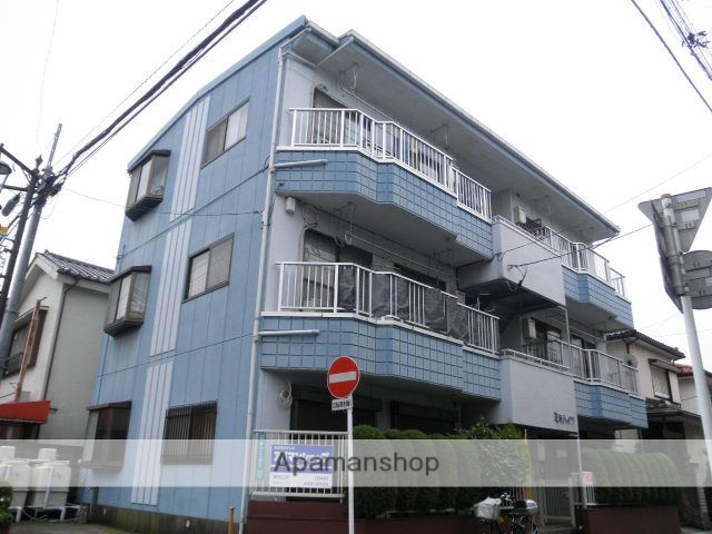 埼玉県川口市、北戸田駅徒歩27分の築25年 3階建の賃貸マンション
