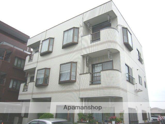 埼玉県蕨市、蕨駅徒歩24分の築25年 3階建の賃貸マンション