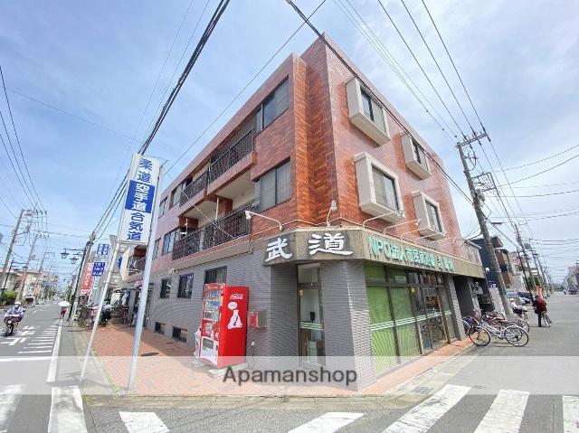 埼玉県川口市、蕨駅徒歩13分の築28年 3階建の賃貸マンション