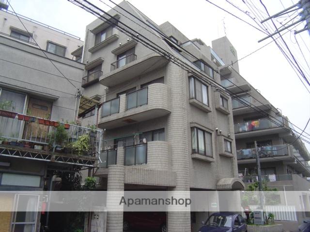 埼玉県川口市、蕨駅徒歩8分の築29年 5階建の賃貸マンション