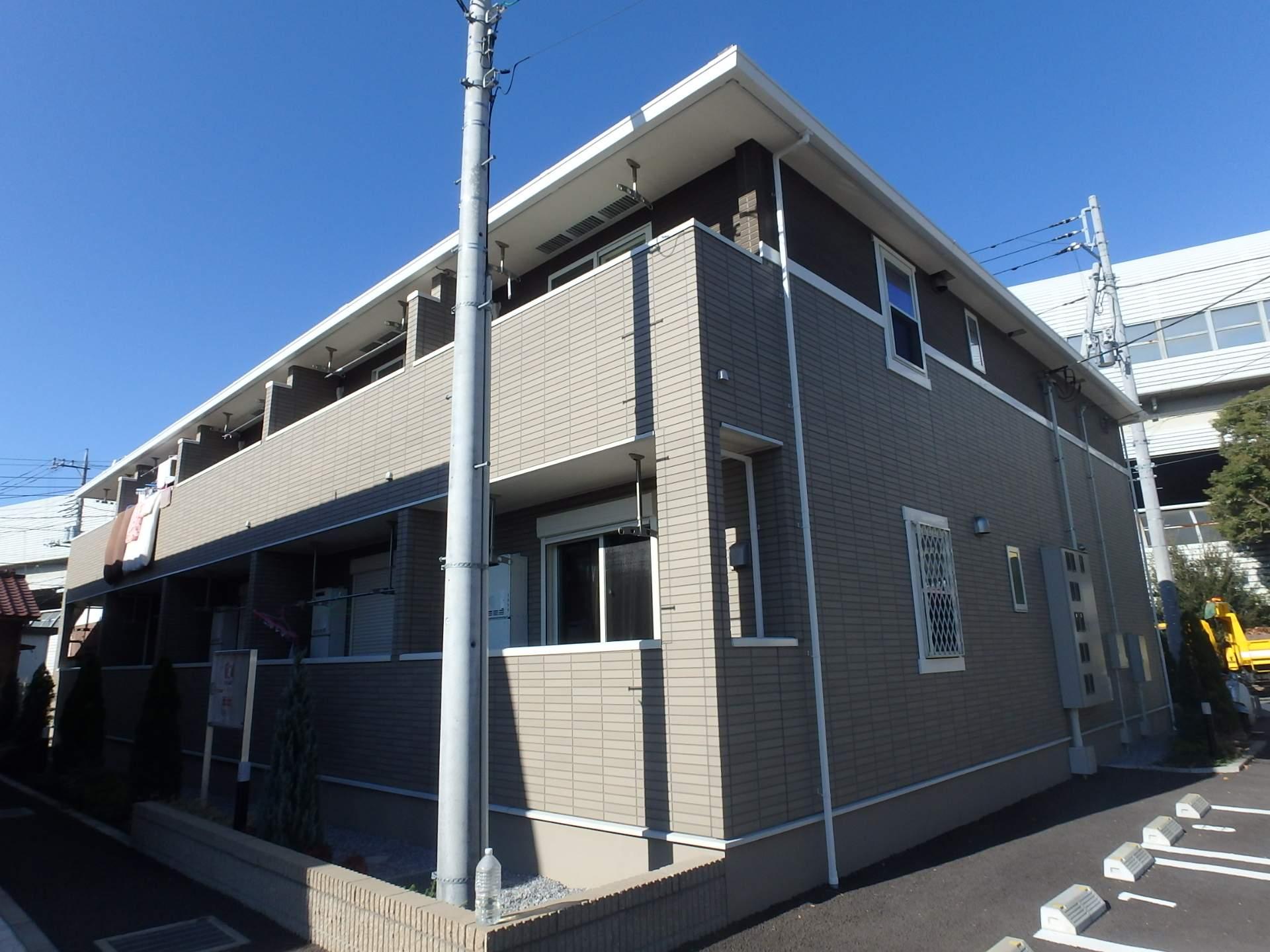 埼玉県川口市、南浦和駅徒歩30分の築3年 2階建の賃貸アパート