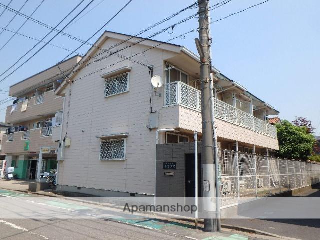 埼玉県蕨市、蕨駅徒歩15分の築22年 2階建の賃貸アパート