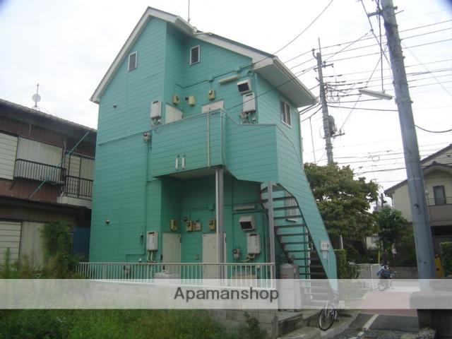 埼玉県川口市、蕨駅徒歩5分の築29年 2階建の賃貸アパート