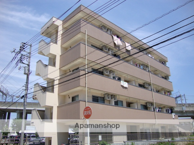 埼玉県戸田市、南浦和駅徒歩35分の築7年 5階建の賃貸マンション