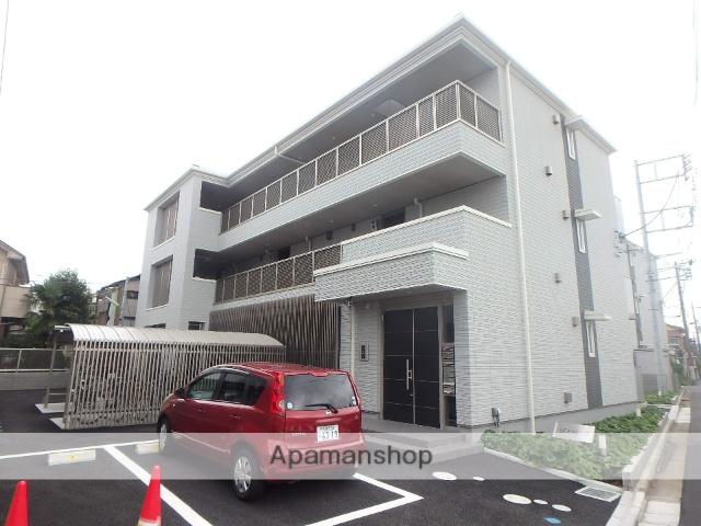 埼玉県蕨市、蕨駅徒歩9分の新築 3階建の賃貸マンション