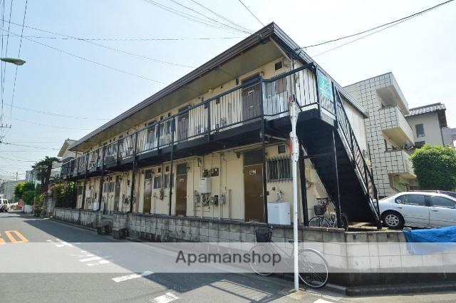 埼玉県川口市、蕨駅徒歩10分の築40年 2階建の賃貸アパート