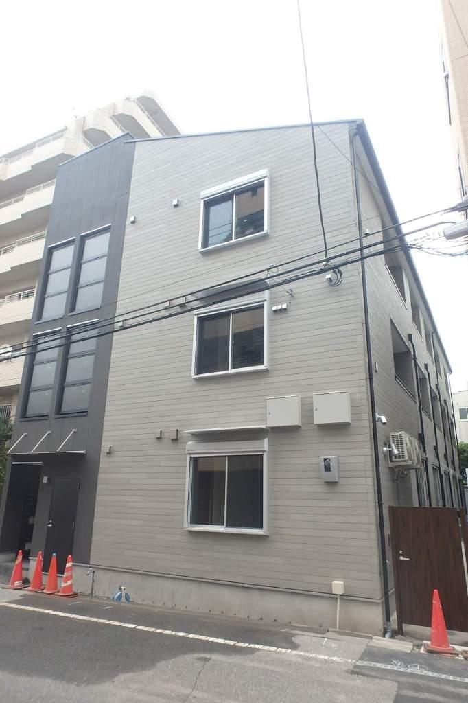 埼玉県川口市、蕨駅徒歩5分の新築 3階建の賃貸アパート