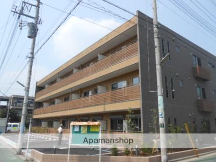 埼玉県蕨市、蕨駅徒歩14分の築3年 3階建の賃貸マンション