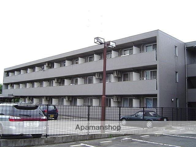 埼玉県蕨市、戸田駅徒歩17分の築24年 3階建の賃貸マンション