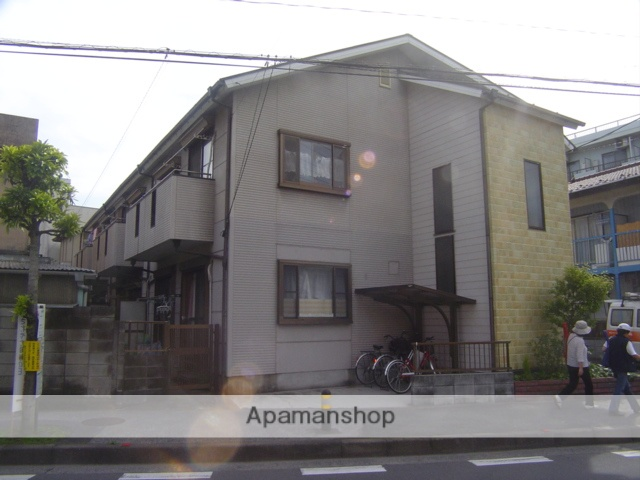 埼玉県蕨市、戸田公園駅徒歩19分の築25年 2階建の賃貸アパート