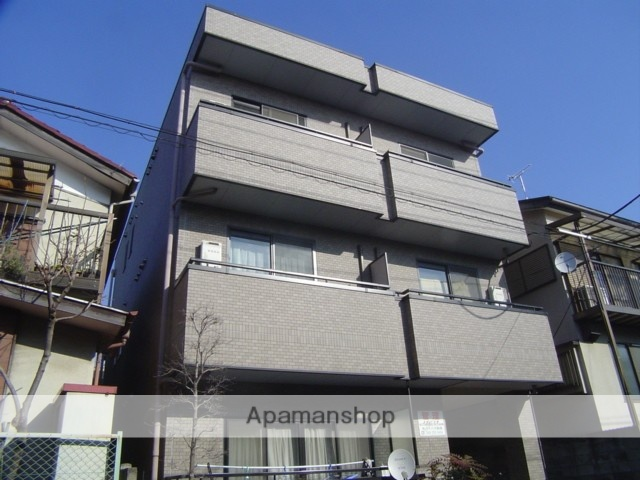 埼玉県川口市、蕨駅徒歩14分の築16年 3階建の賃貸マンション