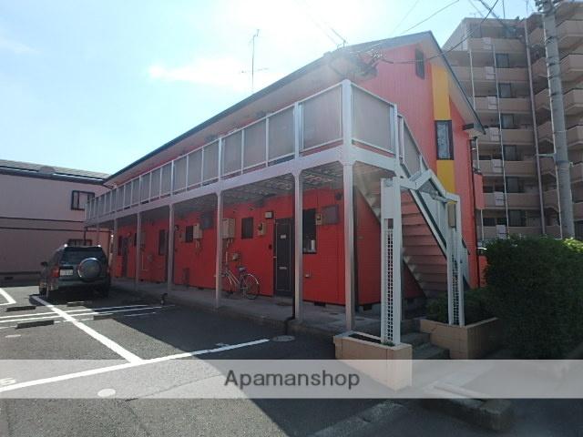 埼玉県蕨市、戸田駅徒歩10分の築25年 2階建の賃貸アパート