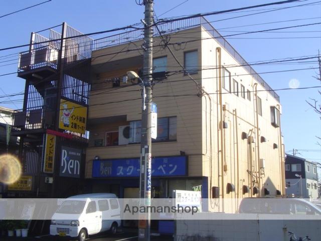 埼玉県川口市、蕨駅バス10分ダイヤモンドシティキャラ下車後徒歩1分の築35年 3階建の賃貸マンション