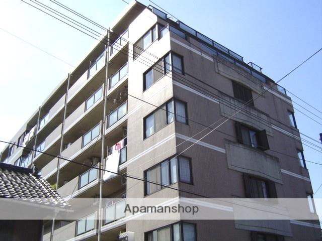 埼玉県蕨市、戸田駅徒歩18分の築25年 7階建の賃貸マンション