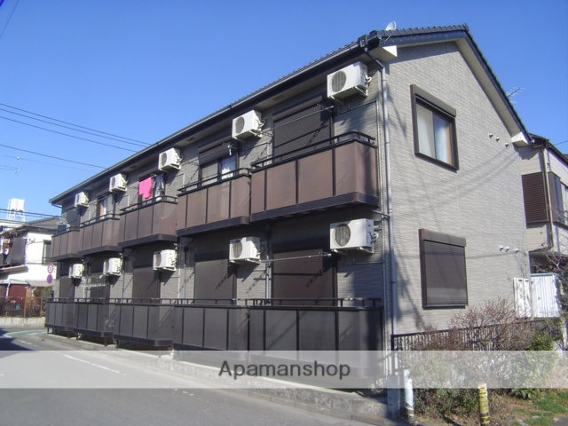 埼玉県戸田市、戸田公園駅徒歩16分の築18年 2階建の賃貸アパート