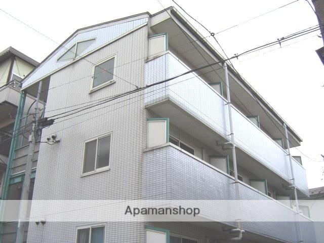 埼玉県川口市、蕨駅徒歩15分の築28年 3階建の賃貸マンション