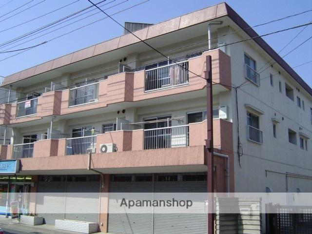 埼玉県川口市、蕨駅徒歩3分の築30年 3階建の賃貸マンション