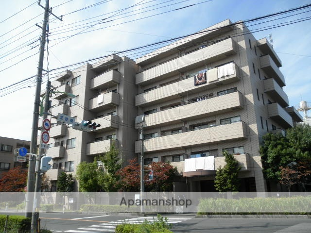 埼玉県川口市、南浦和駅徒歩23分の築20年 6階建の賃貸マンション