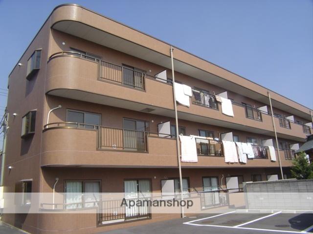 埼玉県蕨市、戸田駅徒歩22分の築21年 3階建の賃貸マンション