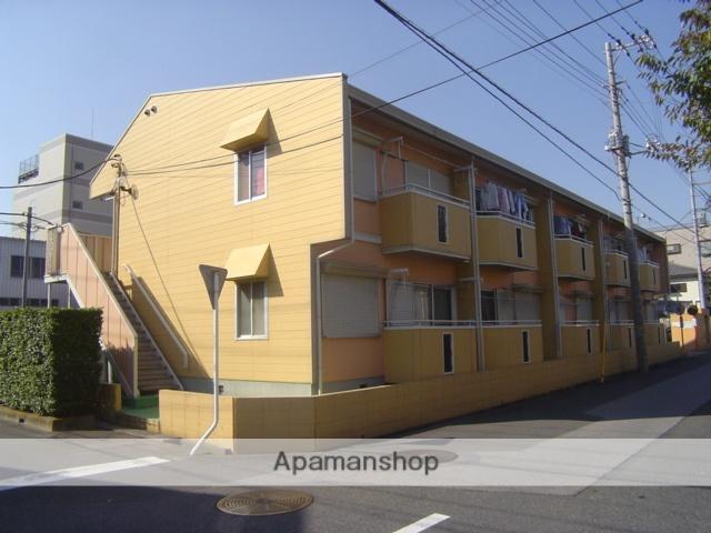 埼玉県蕨市、戸田駅徒歩10分の築31年 2階建の賃貸アパート