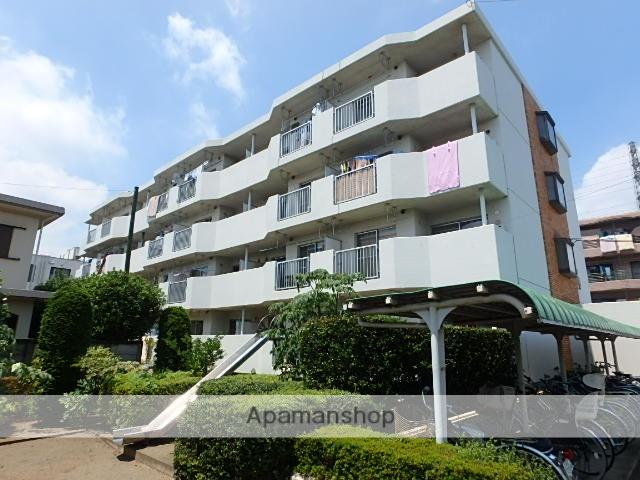 埼玉県さいたま市北区、日進駅徒歩14分の築32年 4階建の賃貸マンション